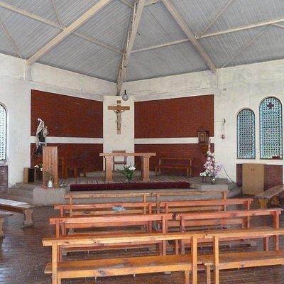 Das Innere der Kirche