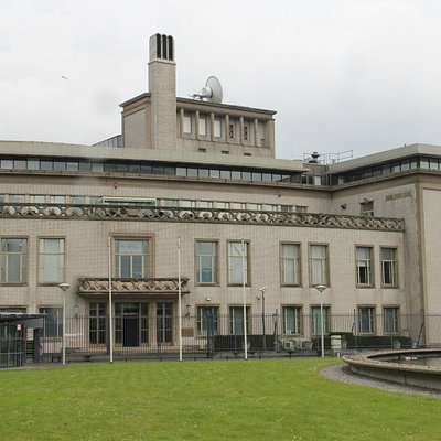 ICTY-Outside of the Building of International Criminal Tribunal for Yugoslavia