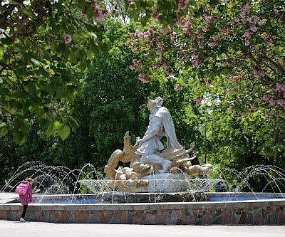 Shevchenko park in Rivne