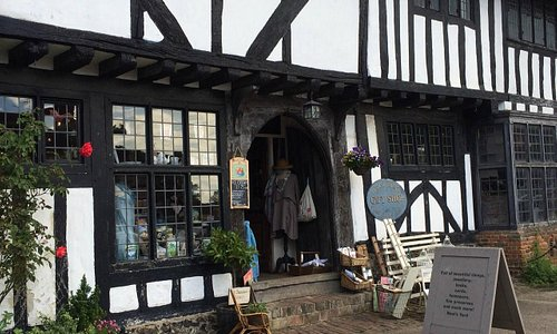 the shop across the square from the White Horse