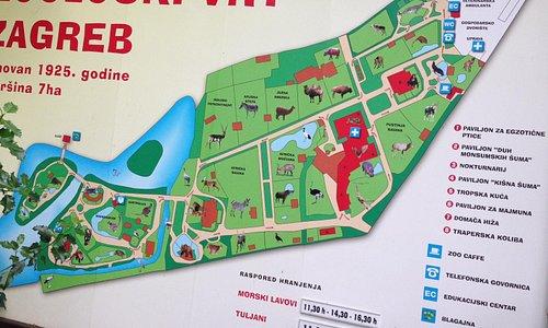 piantina dello zoo