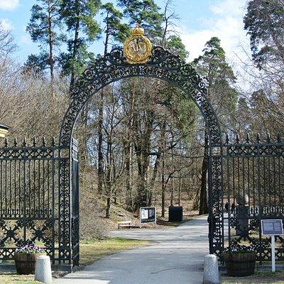 Hagaparken - Cancello Nord