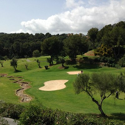 View from terrace (hole 19)