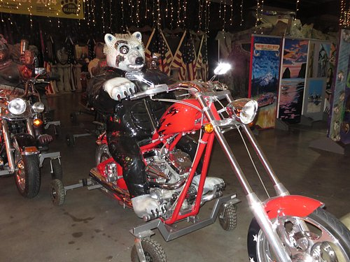 """Part of the """"Wild Bunch""""  Bear Motorcycle Gang"""