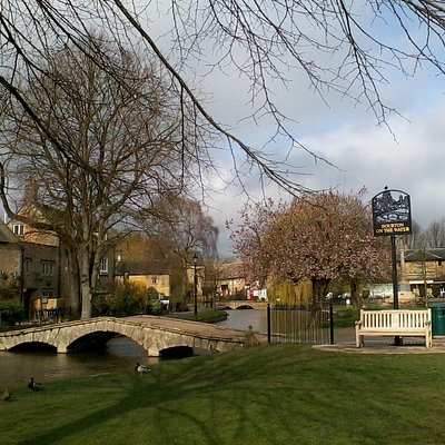 Bourton-on-the-Water, my home