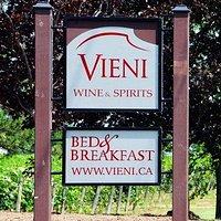 Vieni Estates Inc. Wine & Spirits. Bed & Breakfast