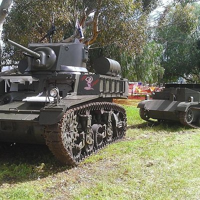 Our M3 Suart and Universal Carrier