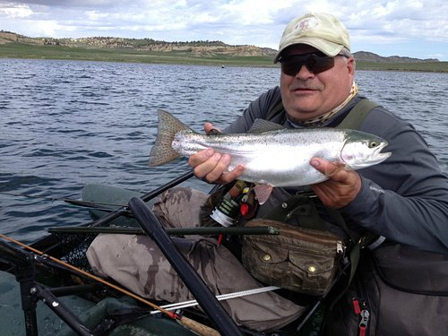 Another 4lb Rainbow.....