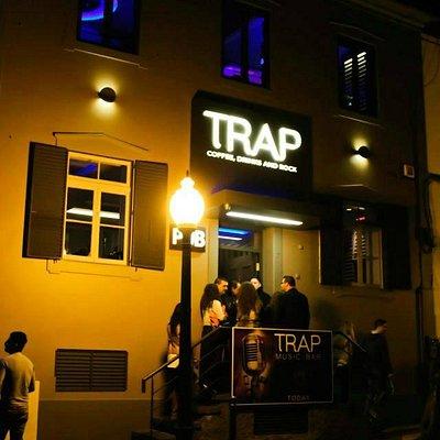 trap entrance