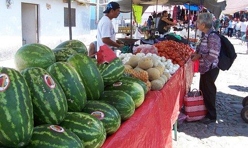 Chapala market, Mondays