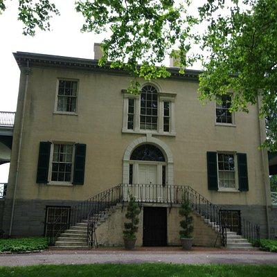 Main Entrance - Lemon Hill Mansion