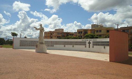 Visão geral do monumento.
