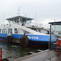 Free ferry transportation across the river!