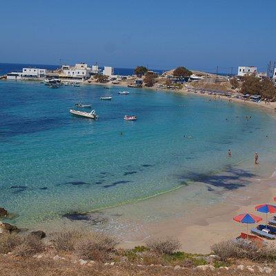 Lefkos la spiaggia centrale