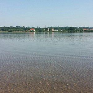 Blick über den Olbersdorfer See