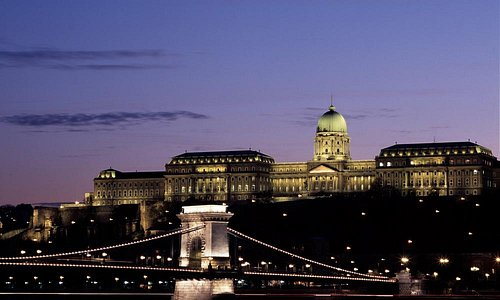 Chain Bridge and Royal Palace Hill, Budapest