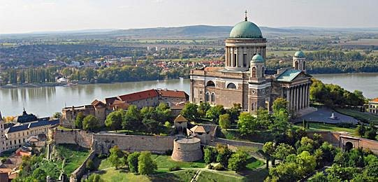 The great basilica at Esztergom, close enough for a day trip from Budapest
