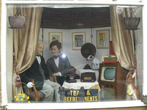 Montacute Museum shop window