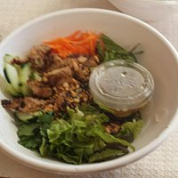 Five spice chicken vermicelli bowl