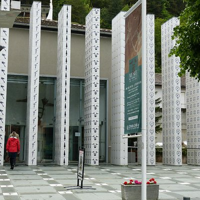 Entrancing entrance to the museum