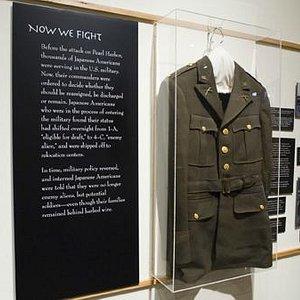 World War II service uniform of Nisei soldier