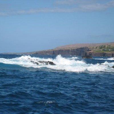 Off Lanai coast