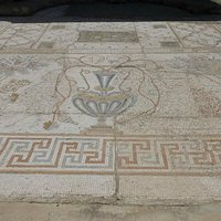 Outdoor mosaic