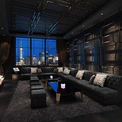 M18 VIP Room with Panoramic Bund View