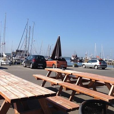 kig udover havnen.