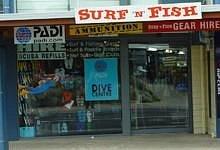 Surf-n-Fish shop front