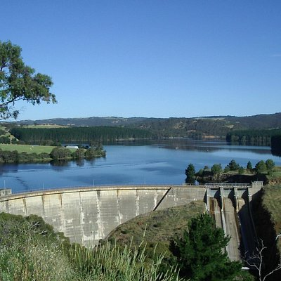 Myponga Reservoir look out
