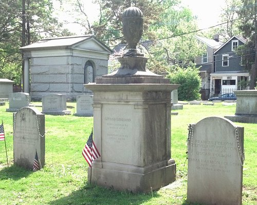 Burial site of President Grover Cleveland