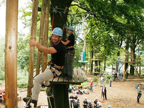 Höhenabenteuer im Teuto-Kletterpark!