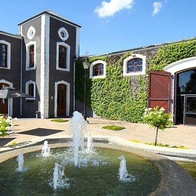 The Van Ryn's Brandy Distillery on arrival