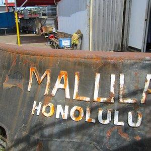 Shipyard remains of the Mallila