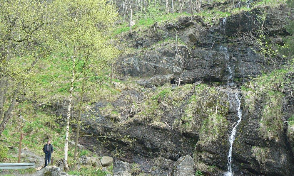 Romkerhall Okertal waterfall