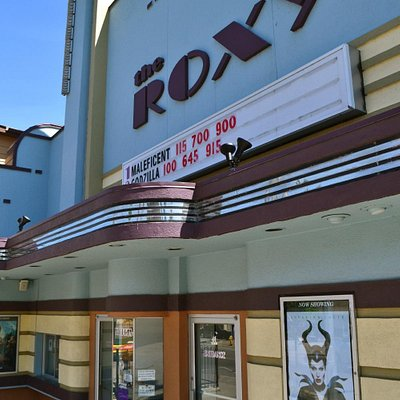 Front of the Roxy