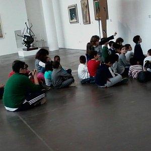 Scolaresca al museo