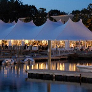 Tent along our Waterfront