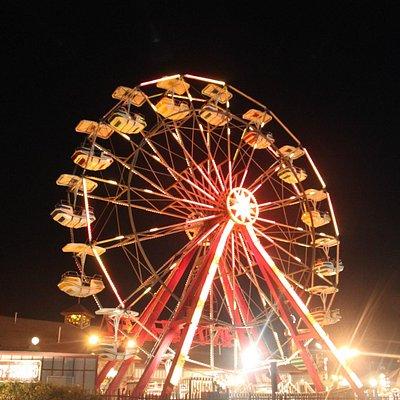 The Giant Ferris Wheel at Fantasy Island