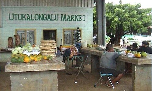 Market in Neiafu
