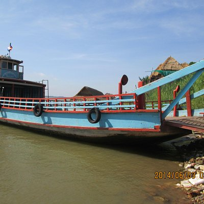 The ferry to the Silk Island