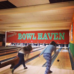 Candlestick bowling...highlight of our trip!