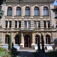 Kharkiv Archeological and Natural History Museum entrance
