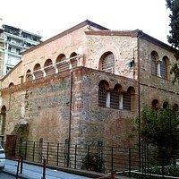 North-western side from Hagias Sophias str.