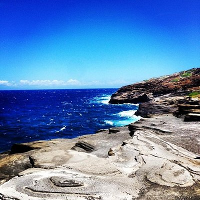 View from Lanai Lookout