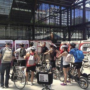 During  Urbanologist city bike tour