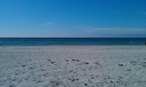 Refsnes beach, June 2014.
