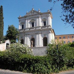 San Gregorio al Celio - Facciata