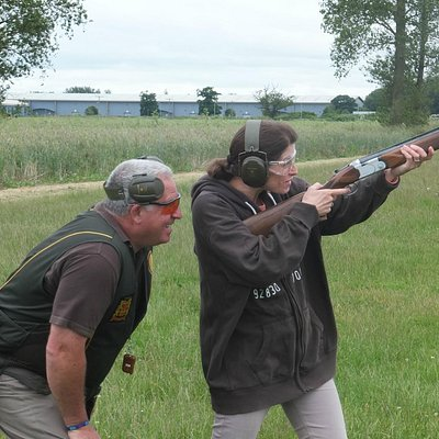 Clay Pigeon Shooting at Explore 4x4